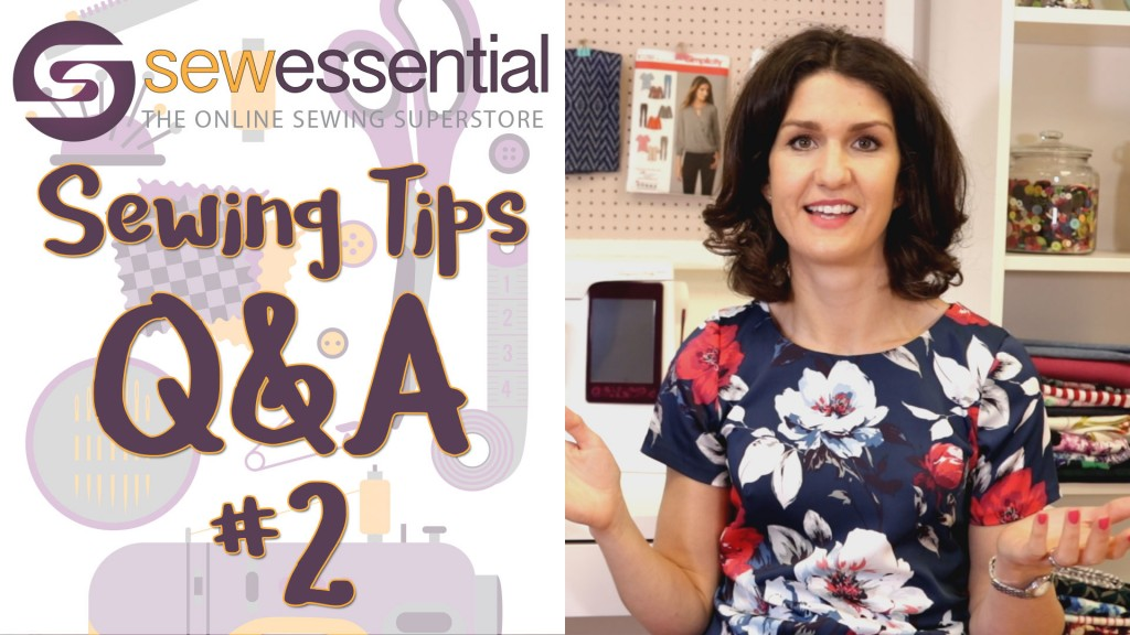 Sewing Q and A 2 Vlog