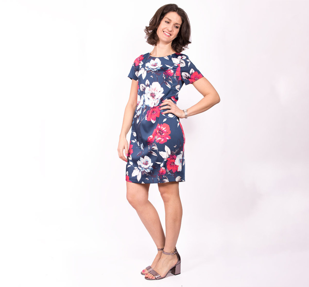 Sewing a Simple Shift Dress