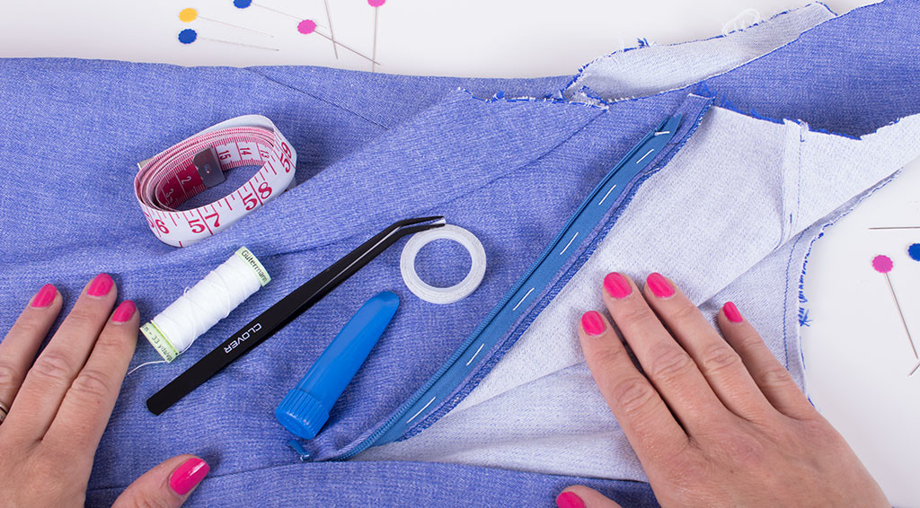 How To Sew An Invisible Zip The Really Clever Way