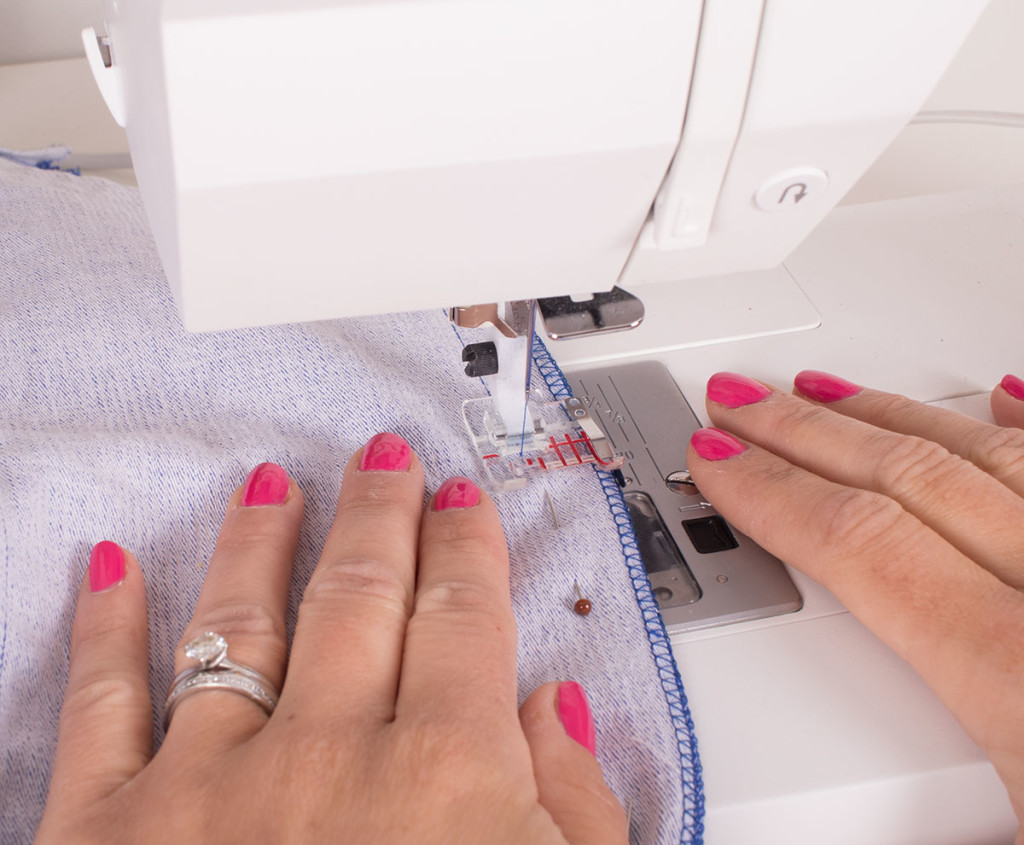 Sewing the Centre Back Seam