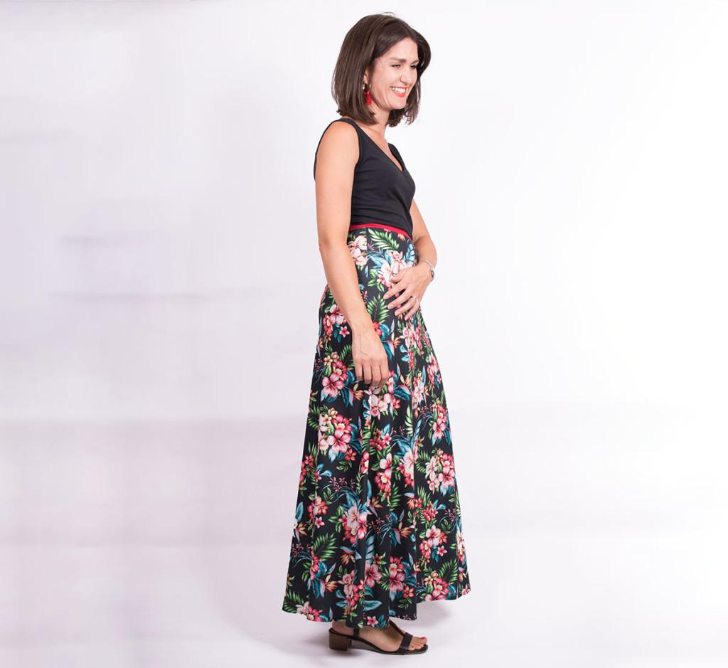 Jersey Maxi Dress 3