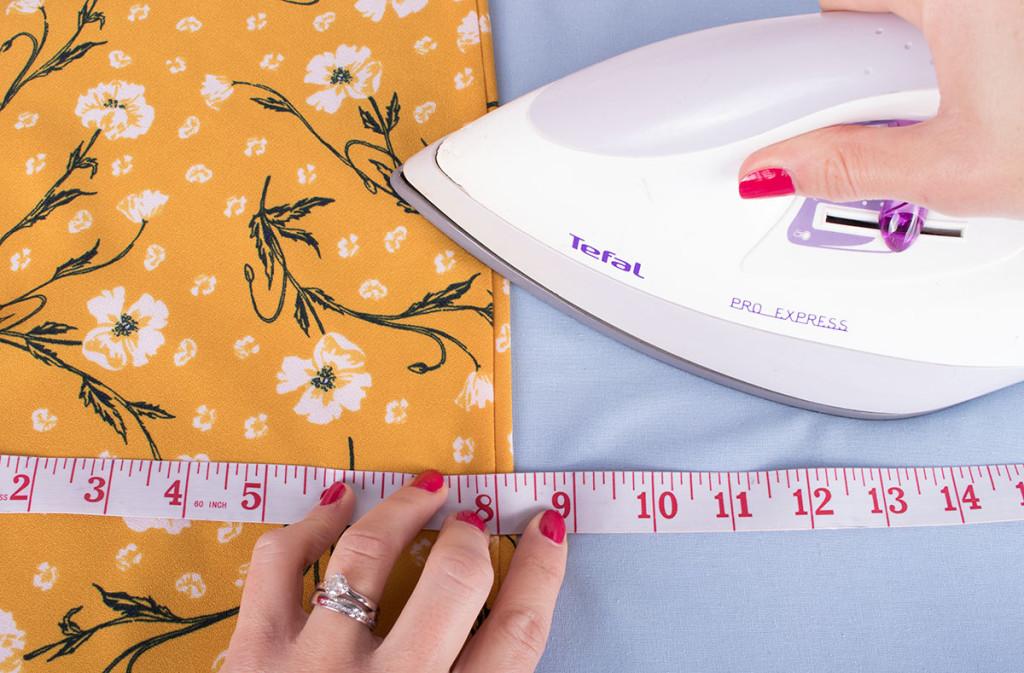 "Sewing a 1/4"" Visible Bias Binding"