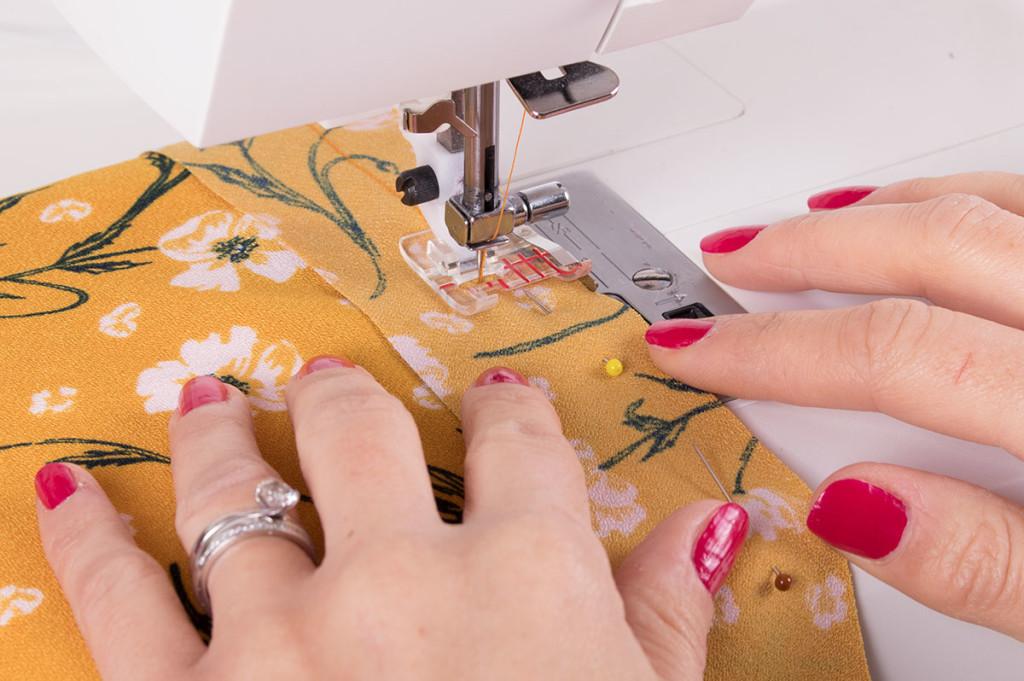 Sewing Bias Binding
