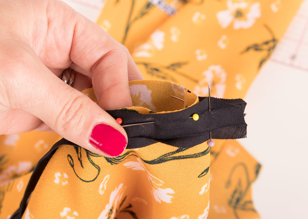 Sewing with Ready Made Bias Binding