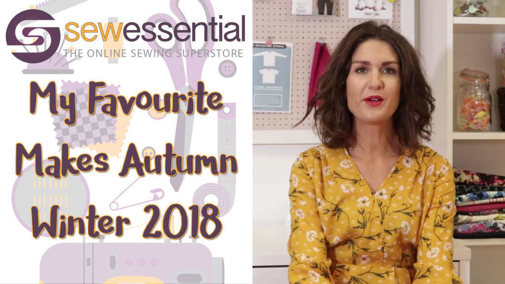 My Favourite Autumn Winter 2018 Sewing Makes