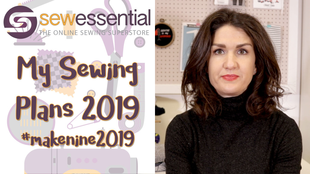 #makenine 2019 Sewing Plans