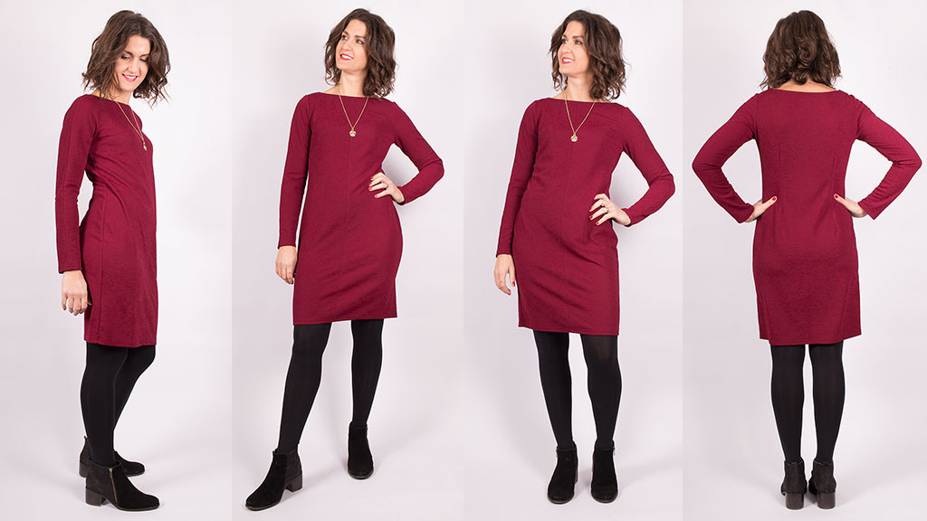 Sewing a Simple Knit Dress