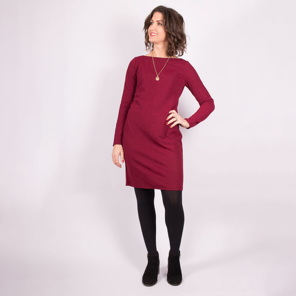 Simple Knit Dress View 1
