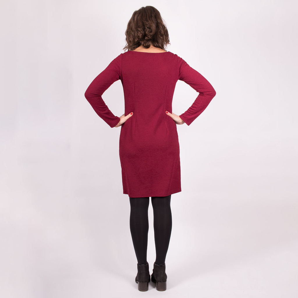 Simple Knit Dress View 2