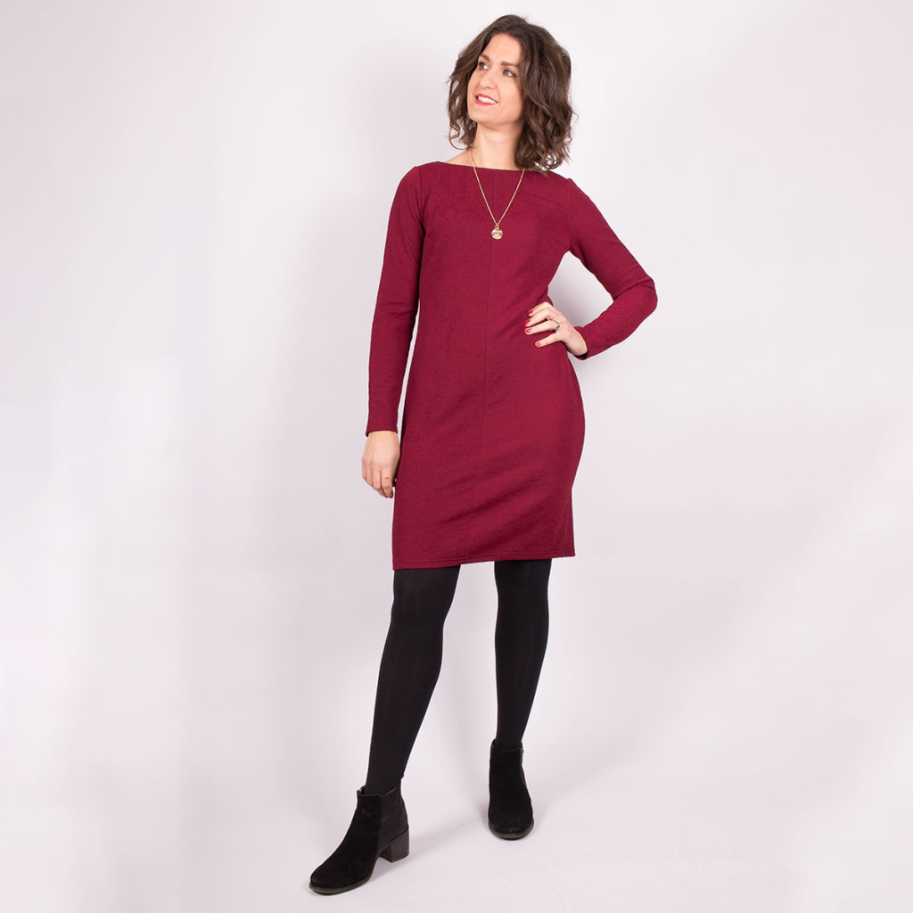 Simple Knit Dress View 3