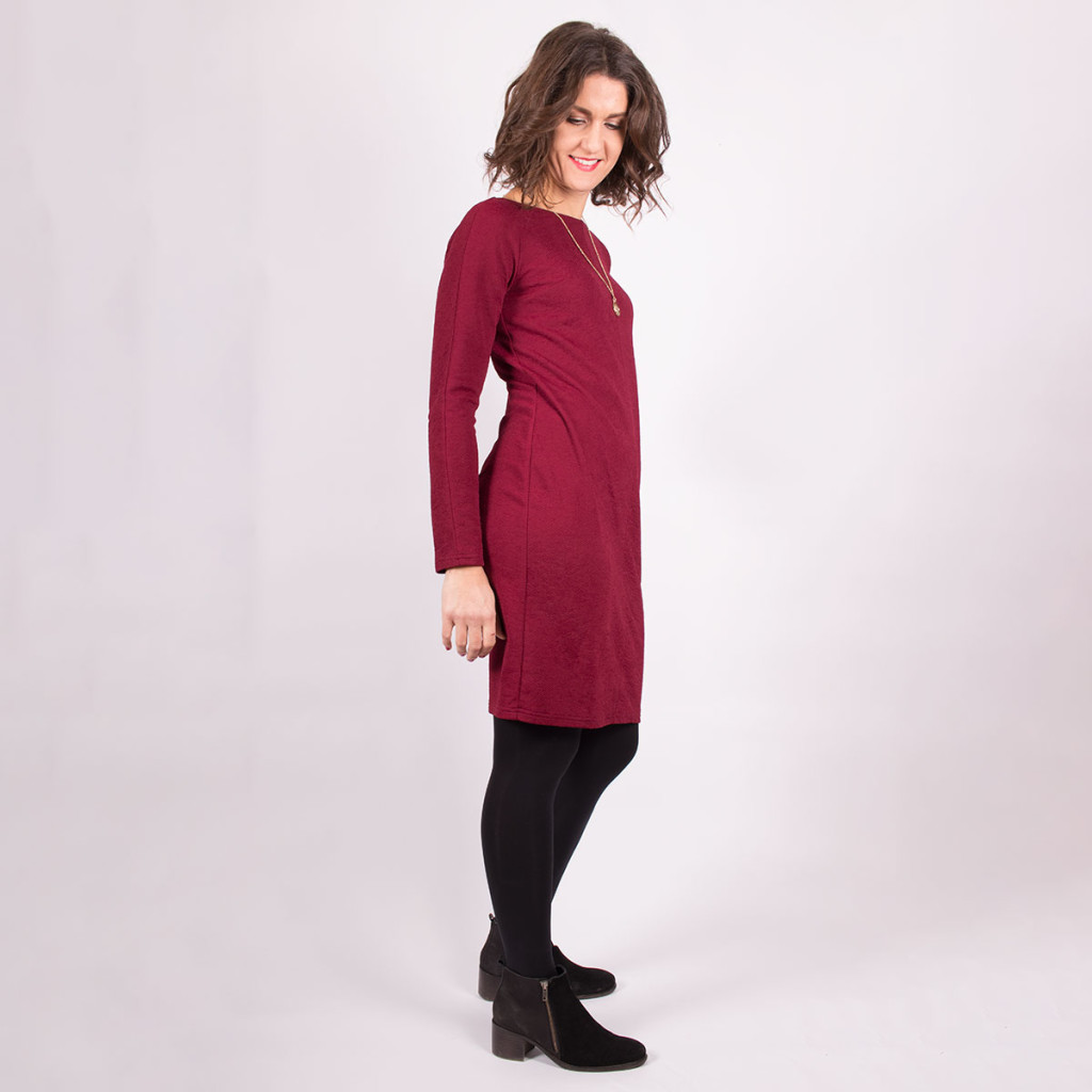 Simple Knit Dress View 4