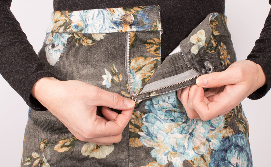 Sewing a Fly Front Zip