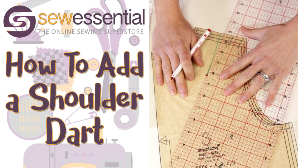 Sewing Tutorial: How to Insert a Shoulder Dart
