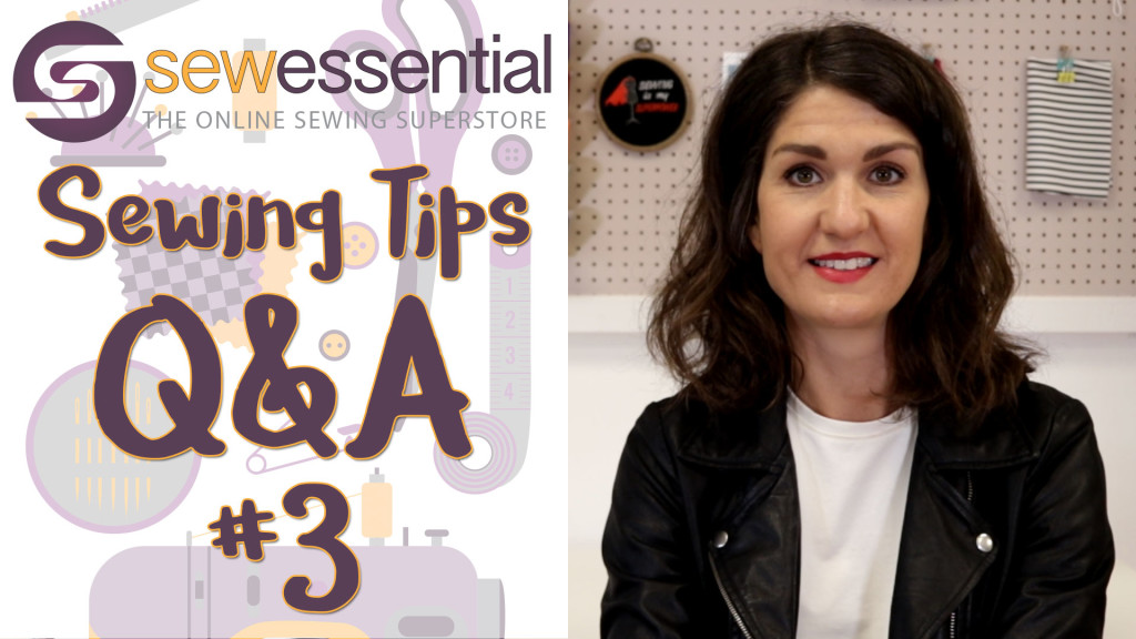 Q&A #3 Sewing Tips Vlog