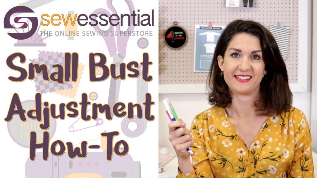 Small Bust Adjustment How-To