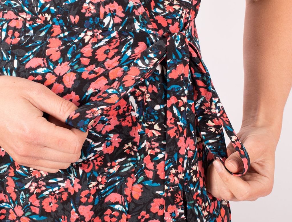 Simplicity 8735 Wrap Dress Tie