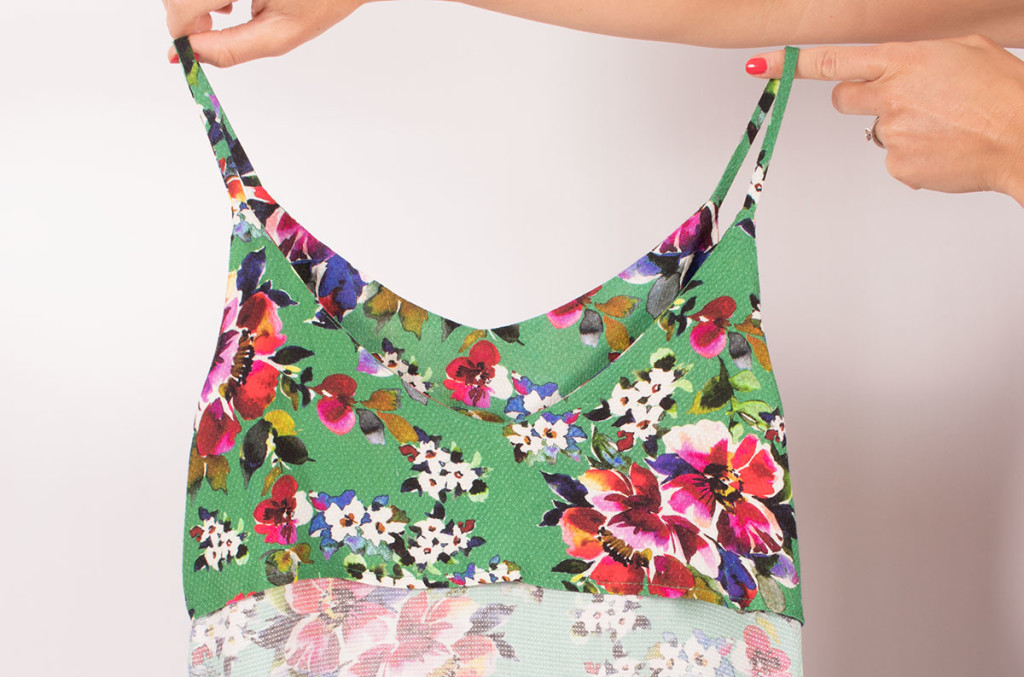 Lining the Ogden Cami