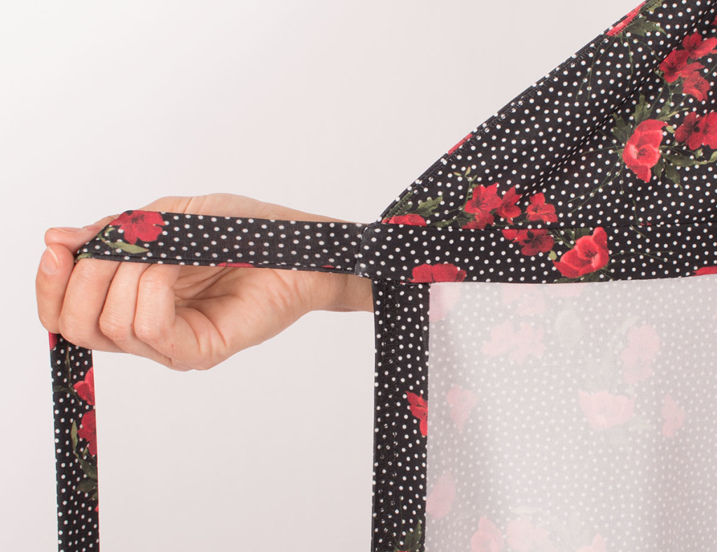 Sewing a jersey sundress