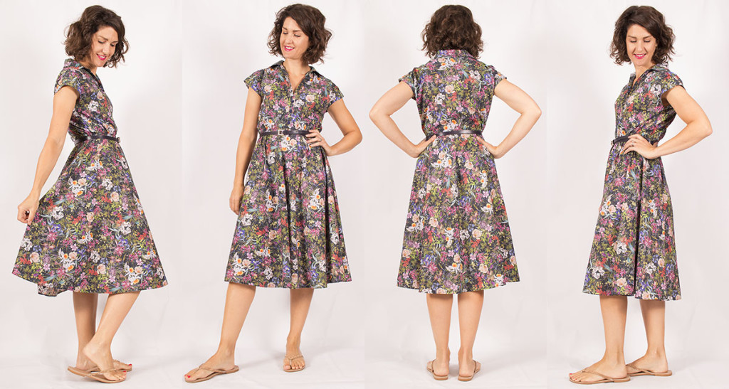 Sewing the Penny Dress by Sew Over It