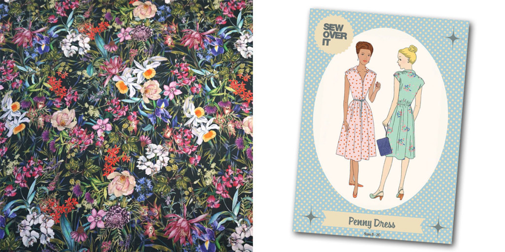Penny Dress and Fabric