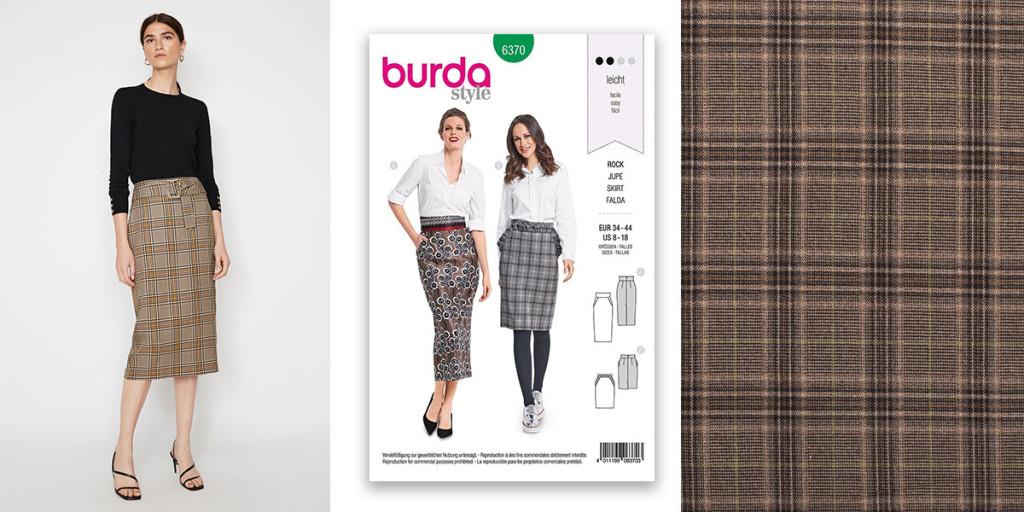 Warehouse Pencil Skirt