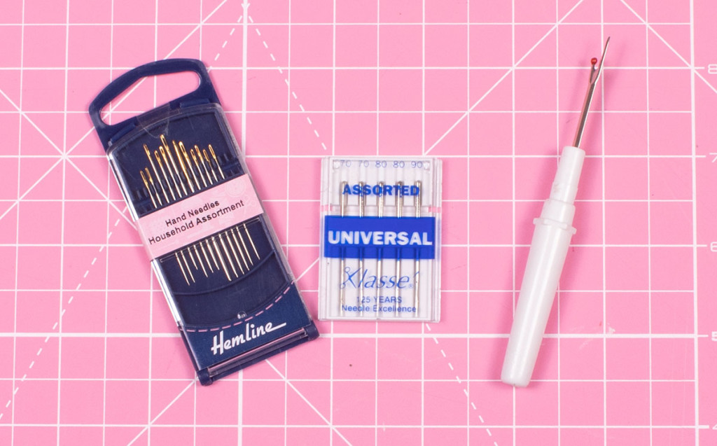 Sewing Tools for Beginners: Hand Sewing Needles, Machine Sewing Needles and Seam Ripper