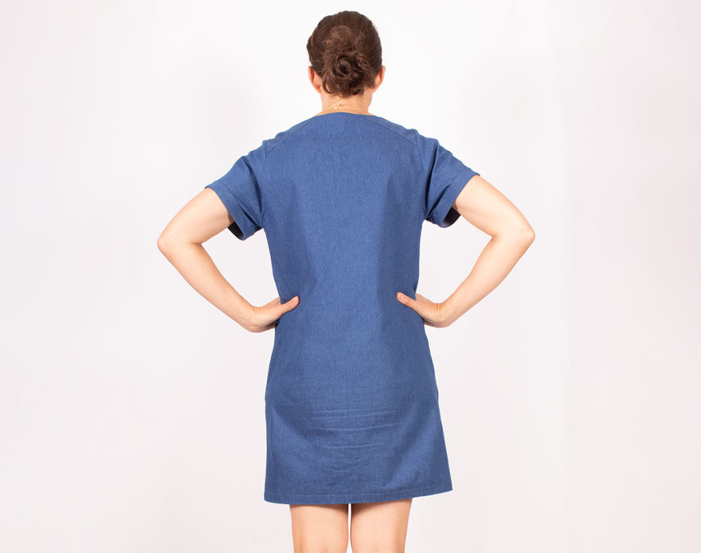 Cielo Dress Back View