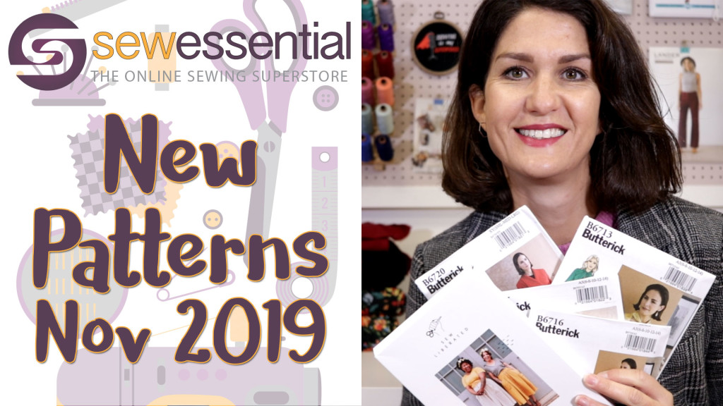 New Sewing Patterns November 2019 VLOG