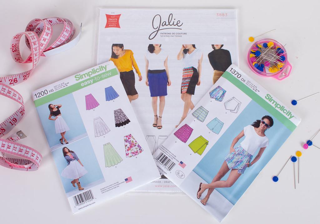 Skirts Beginner Sewing Patterns