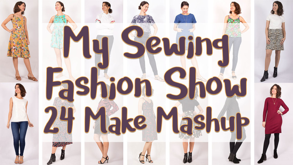 2019 Sewing Round Up Fashion Show