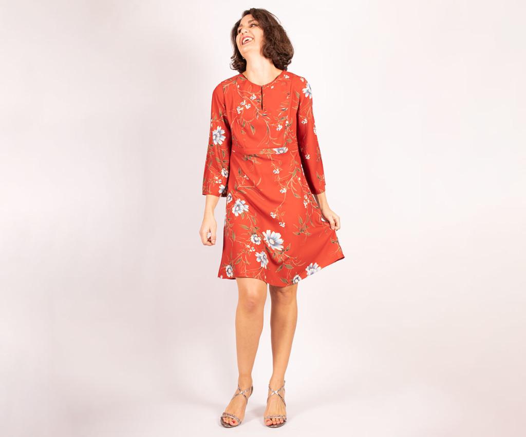 utterick 6481 keyhole dress pattern