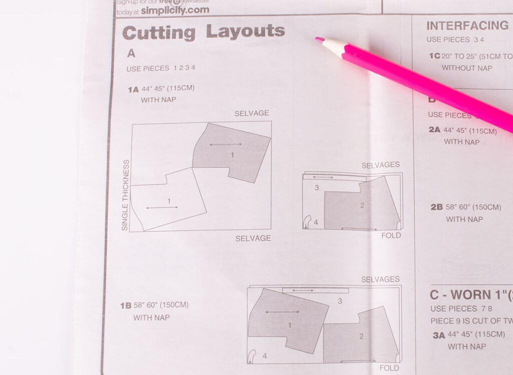 Sewing Pattern Cutting Layouts