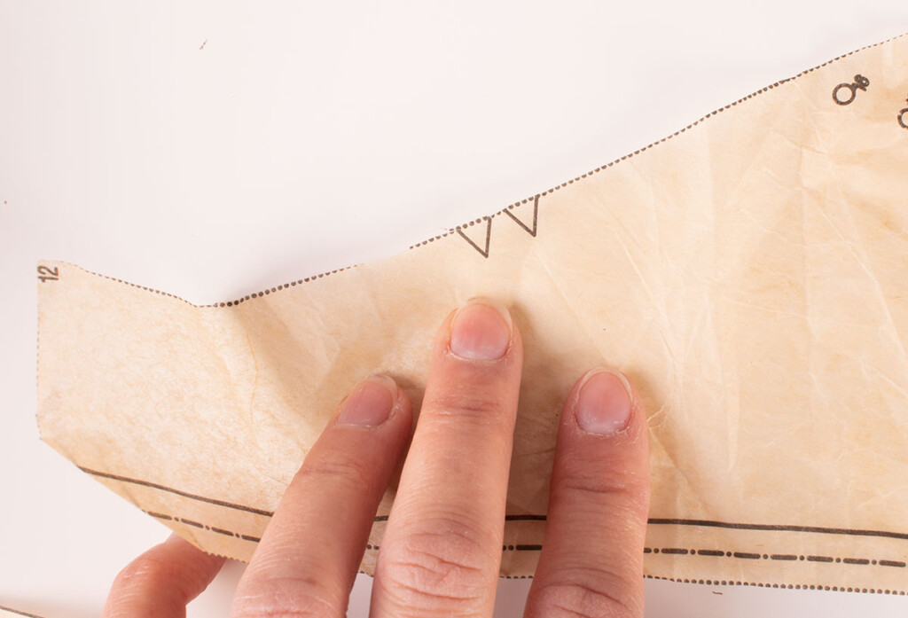Sewing Pattern Piece Notches