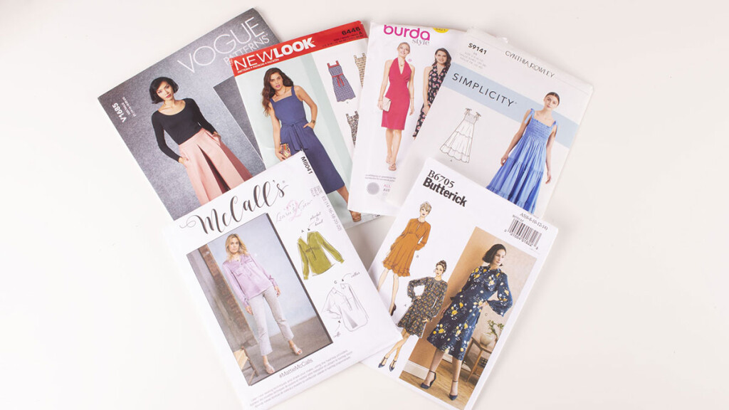 Commercial sewing patterns