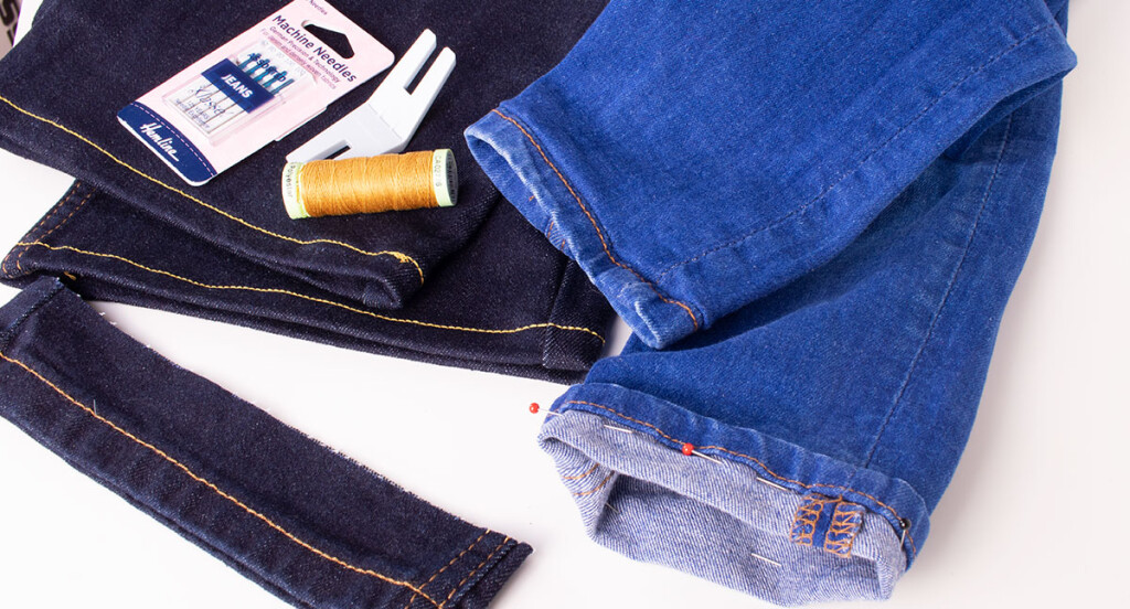 Two Ways to Hem and Shorten your Jeans