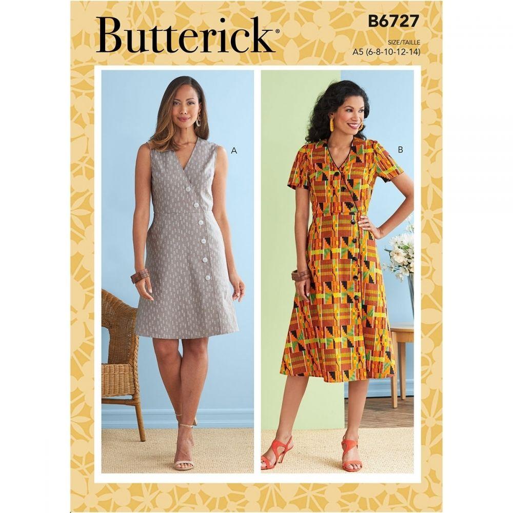 Butterick 6727 sewing pattern