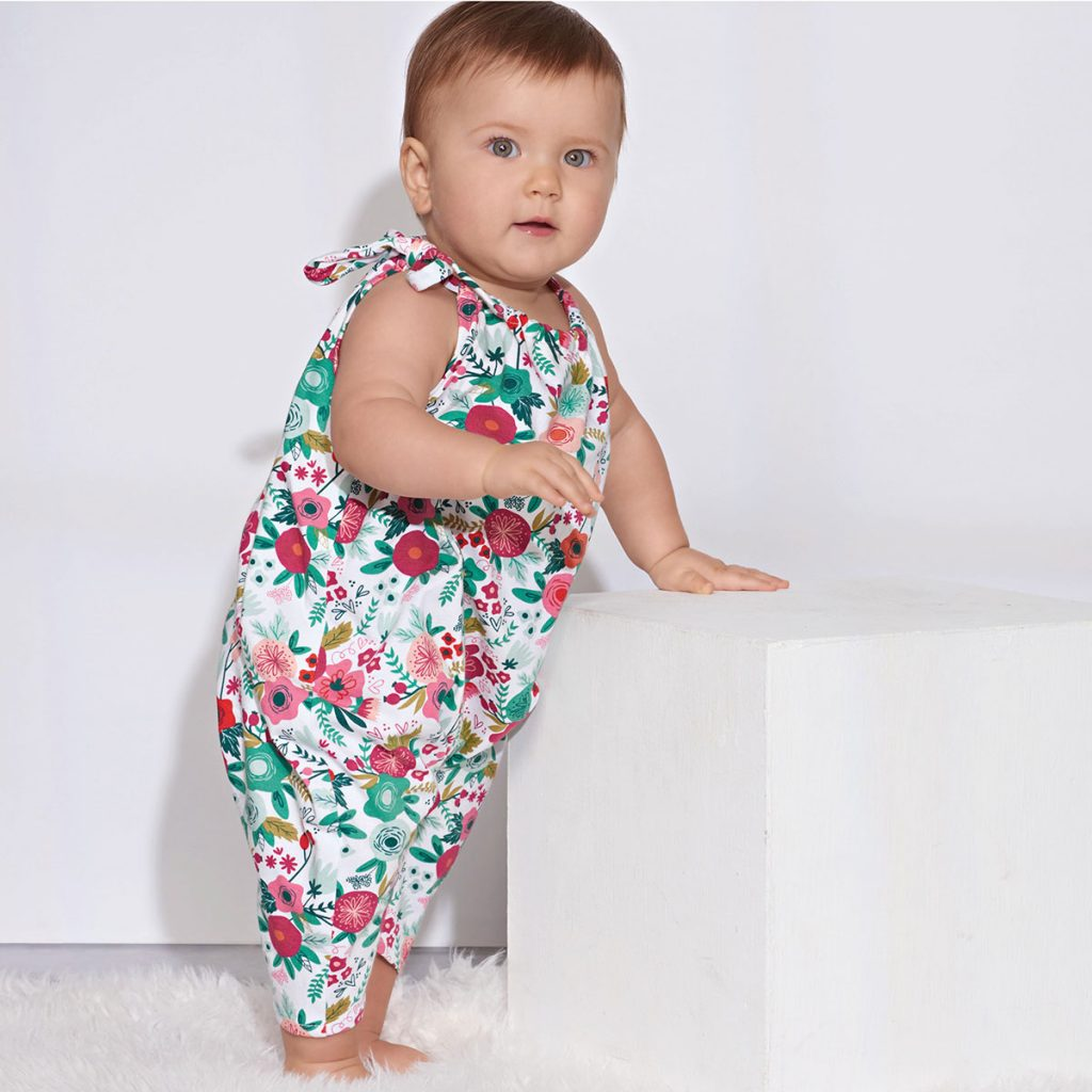 Simplicity 8894 romper suit sewing pattern