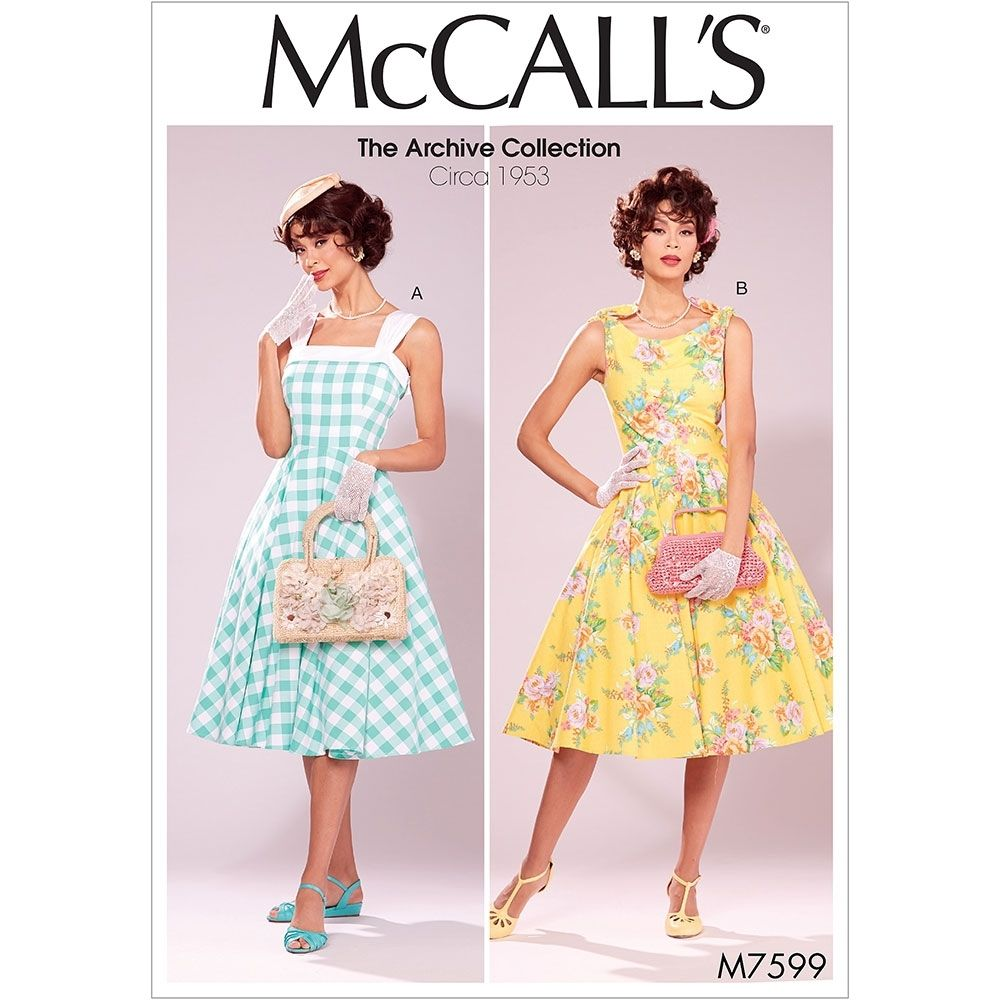 McCalls 7599 sewing pattern