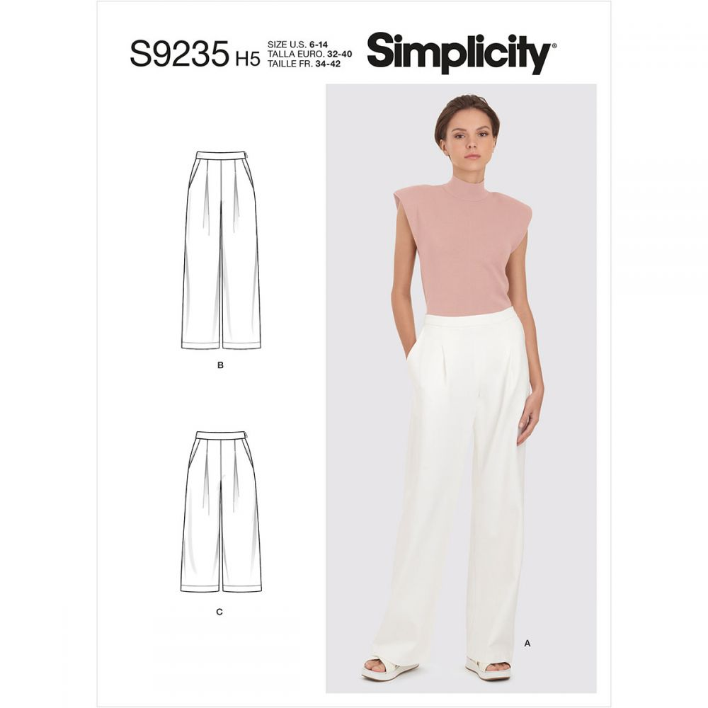 Simplicity 9235 sewing pattern